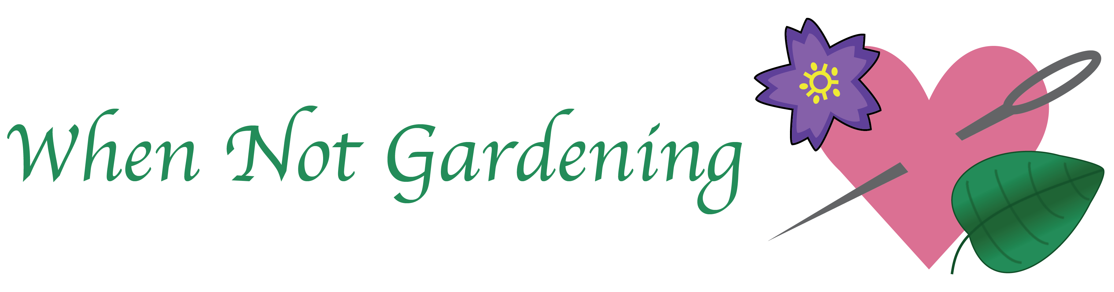 When Not Gardening